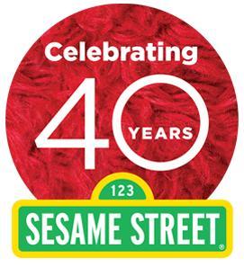 SESAME STREET 40th BIRTHDAY