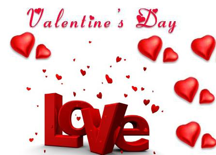 14th February: SAINT VALENTINE'S DAY
