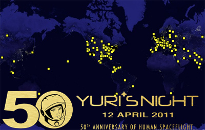 12th April: YURI'S NIGHT